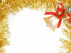 Christmas decoration border picture material-2