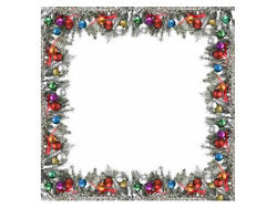 Christmas decoration border picture material-3