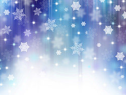 Christmas snowflake background high definition pictures-2