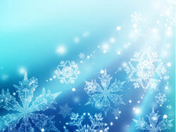 Christmas snowflakes fantasy backgrounds 02–HD pictures