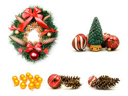 Christmas theme elements-HD picture material