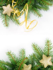 Christmas tree decoration material picture download