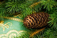 Christmas tree decoration material picture