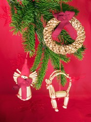Christmas Wreath picture material download