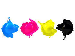 CMYK color dye 04–HD pictures