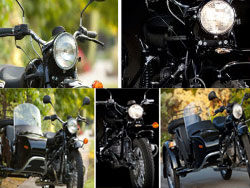 Cool on the side-car motorcycle HD pictures