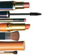 Cosmetics photo picture material