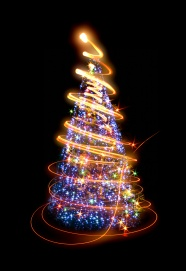 Creative Christmas tree picture download