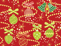 Cute Christmas background picture material-1