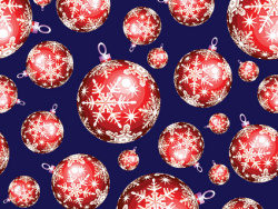 Cute Christmas background picture material-2