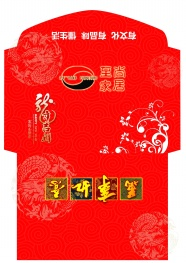 Dragon Chinese new year red envelope pictures download