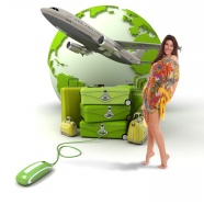 Earth plane travel bag HD pictures