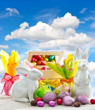 Easter Bunny egg pictures