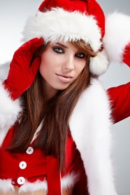 Europe Christmas beauty picture material download