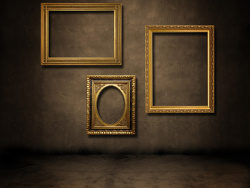 European-style photo frames on the wall picture material-2