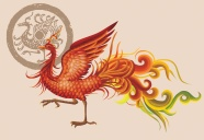 Exquisite hand-painted Phoenix pictures