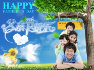 Father's day hand-picture download