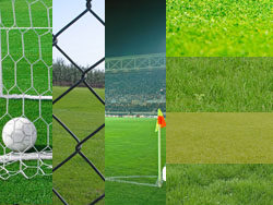 Football field turf material-1
