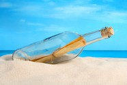 Glass bottles on the beach pictures download