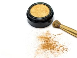 Gold eye shadow HD pictures