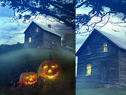 Halloween background 03–HD pictures