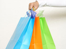 Hand bag-hand color-paper bag HD pictures