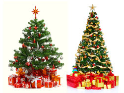 HD 3D Christmas tree pictures