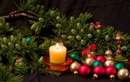 HD Christmas decorations pictures download