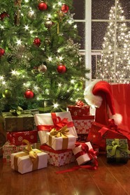 HD Christmas gift pictures download