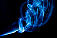 HD creative blue smoke picture download