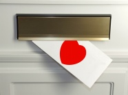 HD love envelope picture download