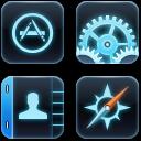 iPhone TRON Icons