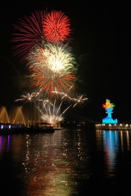 Lantern Festival Fireworks pictures download