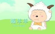 Lazy sheep cute pictures