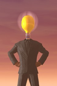 Light bulb character creative design pictures