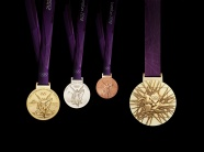 London 2012 Olympics medal picture
