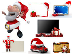 Lovely Christmas 3D HD picture