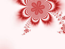 Magic flower background picture material-6