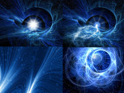 Magic space backgrounds HD pictures