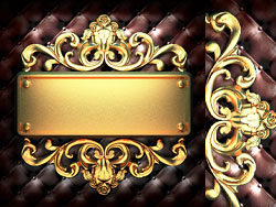 Metallic plate HD Picture
