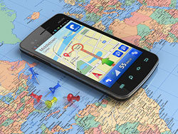 Mobile phone navigation 01-HD pictures