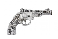 Newspaper art handgun pictures download