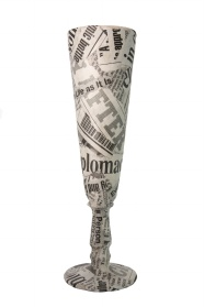 Newspaper Goblet art downloads