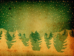 Nostalgic Christmas tree shaded background 01–HD pictures