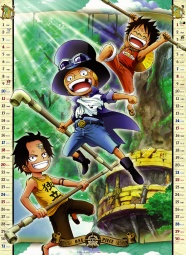 One piece pictures 2012 calendar download
