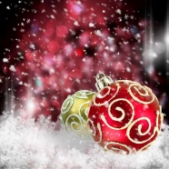 Pink Christmas ornament backgrounds pictures