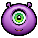 Purple Monsters Icons