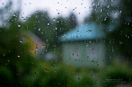 Raindrops on glass picture download