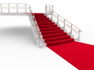 Red carpet ladder HD pictures