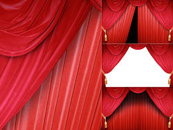 Red Curtain HD pictures